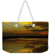 Sunset On Medicine Lake Weekender Tote Bag