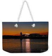 Sunset On Paul Brown Stadium Weekender Tote Bag