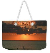Sunset On Race Point Beach Weekender Tote Bag