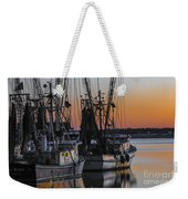 Shem Creek Sunset - Charleston Sc Weekender Tote Bag