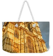 Sunset On The Abbey  Weekender Tote Bag