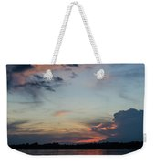 Sunset On The Amazon 3 Weekender Tote Bag