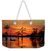 Sunset On The Bayou Weekender Tote Bag