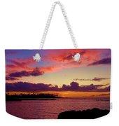 Big Island Sunset - Hawaii Weekender Tote Bag