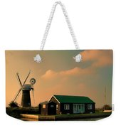 Sunset On The Broads Weekender Tote Bag