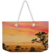 Sunset On The Coast Weekender Tote Bag by James Williamson