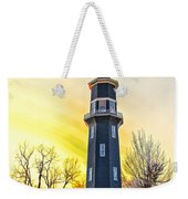 Sunset On The Dwight Windmill Weekender Tote Bag