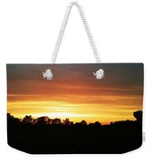 Sunset On The Edge Of Town Weekender Tote Bag