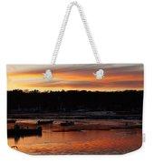 Sunset On The Harbor Weekender Tote Bag