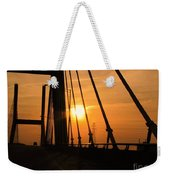 Sunset On The High Rise Weekender Tote Bag
