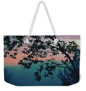 Sunset On The Hill Weekender Tote Bag