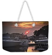 Sunset On The Island Weekender Tote Bag