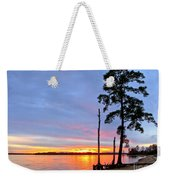 Sunset On The James River Weekender Tote Bag