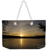 The End Of A Great Day Weekender Tote Bag