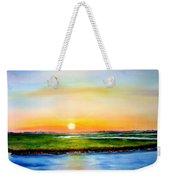 Sunset On The Marsh Weekender Tote Bag