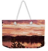 Sunset On The Ohio River  Weekender Tote Bag