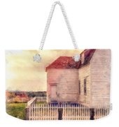 Sunset On The Old Farm House Weekender Tote Bag