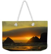 Sunset On The Oregon Coast Weekender Tote Bag