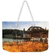 Sunset On The Siuslaw River Weekender Tote Bag