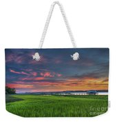 Sunset On The Wando Weekender Tote Bag