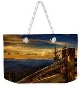 Sunset On Top Of Mount Mitchell Weekender Tote Bag