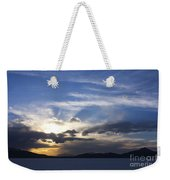 Sunset On Uyuni Salt Flats Weekender Tote Bag
