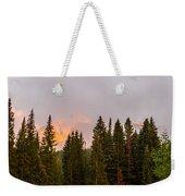 Sunset On West Beckwith Peak Weekender Tote Bag