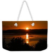 Sunset On Winnesheik Weekender Tote Bag