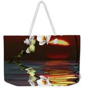 Sunset Orchids Weekender Tote Bag