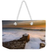 Sunset Over A Rough Sea II Weekender Tote Bag