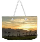 Sunset Over Arran Weekender Tote Bag