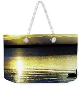 Sunset Over Aurora Weekender Tote Bag