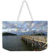 Sunset Over Bar Harbor Weekender Tote Bag