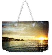 Sunset Over Biloxi Bay Weekender Tote Bag