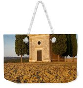 Sunset Over Cappella Di Vitaleta Weekender Tote Bag