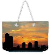 Sunset Over Chicago 0349 Weekender Tote Bag