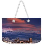 Sunset Over Granada And The Cathedral Weekender Tote Bag