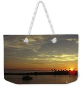 Sunset Over Jetty Point Weekender Tote Bag