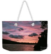 Sunset Over Lake Bailey Weekender Tote Bag