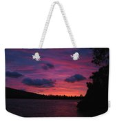 Sunset Over Lake Bailey Weekender Tote Bag