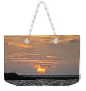 Sunset Over Lake Como Weekender Tote Bag