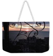 Sunset Over Puerto Vallarta Weekender Tote Bag