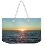 Sunset Over Sea Weekender Tote Bag
