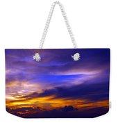 Sunset Over Sea Weekender Tote Bag