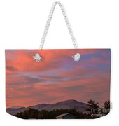Sunset Over Squaw Butte Weekender Tote Bag