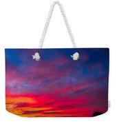 Sunset Over Swansea Tasmania Weekender Tote Bag
