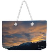 Sunset Over The Alps Weekender Tote Bag