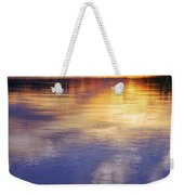 Sunset Over The Arkansas River Weekender Tote Bag