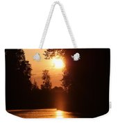 Sunset Over The Canals Weekender Tote Bag