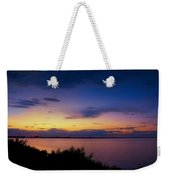 Sunset Over The Causeway Weekender Tote Bag